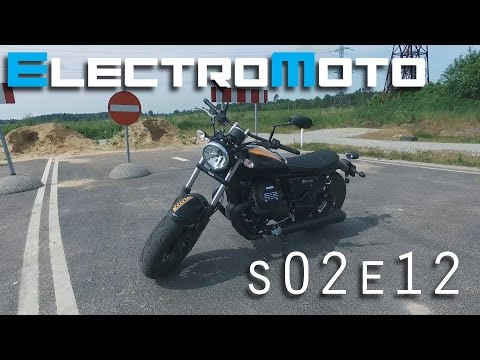 2016 Moto-Guzzi V9 Bobber ride and review