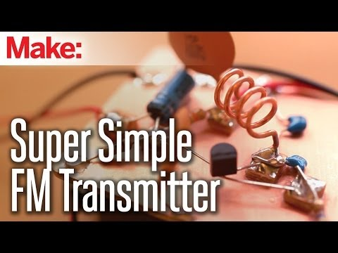 Build Your Own FM Transmitter And Send Your Music To Any Stereo