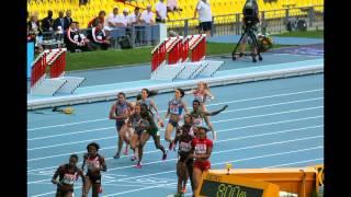 Женская эстафета финал 4х400 м. фотомагазин. Чемпионат Мира по легкой атлетике.