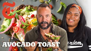 Home Cook Vs. Food Stylist: Avocado Toast | NYT Cooking