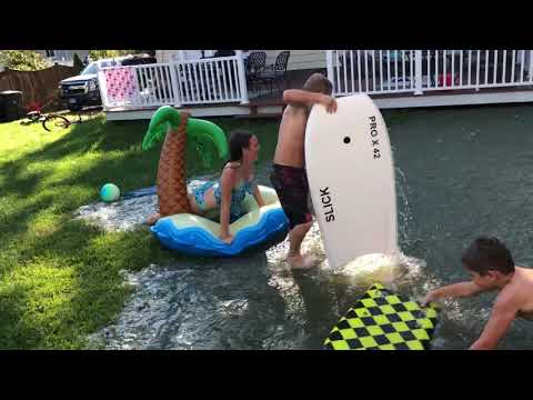 HOW TO WIN DAD OF THE MONTH - INTEX POOL!!