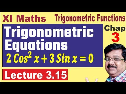 Trigonometric. Equations