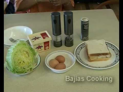 """"""" EGG SANDWICHES """" Bajias Cooking"""