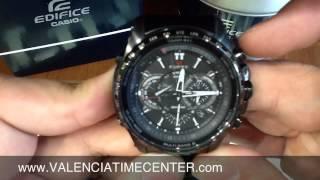 420fcc1e61e55 Casio Edifice EQWT720DC-1A How to Set and Review by Valencia Time Center