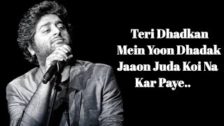 Teri Saanson Mein (Lyrics) | Palak Muchhal, Amit   - YouTube