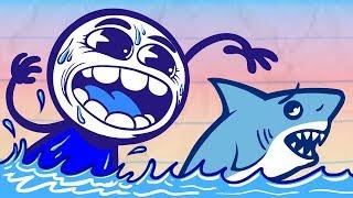 Pencilmate's Aquarium On The Run! | Animated Cartoons Characters | Animated Short Films