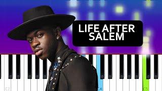 Lil Nas X - Life After Salem  (Piano Tutorial)