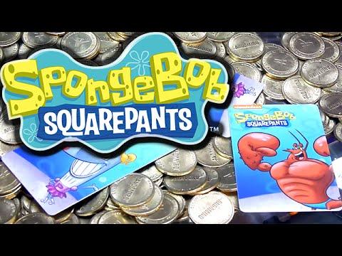 SpongeBob Coin Pusher Winning Cards! - Arcade Nerd   