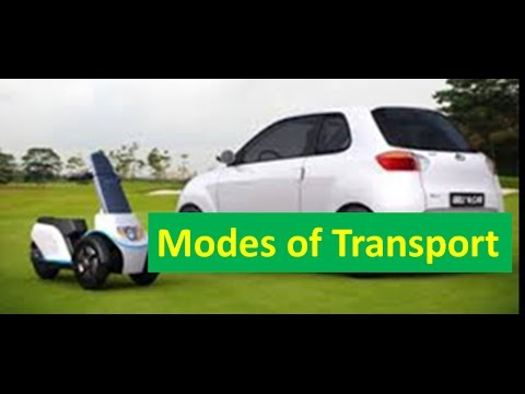 Modes (Means) of Transport -For Kids of Kindergarten,Preschoolers \u0026 Toddlers