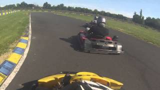 preview picture of video 'la dsc acing au karting a bergerac'