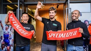 Specialized China new HQ in Shanghai - Opening ceremony