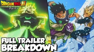 BROLY ARRIVES! Dragon Ball Super: Broly Movie Full Trailer Breakdown! Goku Vs Broly! Frieza Vs Broly