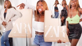 HUGE ZARA TRY ON HAUL **SALES AND NEW IN SUMMER 2020**  || MylifeasSugar
