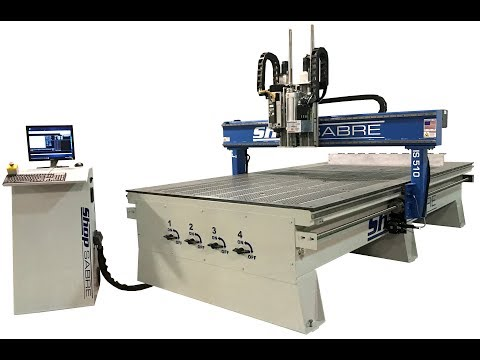 ShopSabre CNC – IS Series Walk Around with Routerbobvideo thumb
