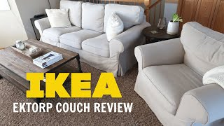 HONEST IKEA EKTORP COUCH REVIEW | WOULD I PURCHASE AGAIN???
