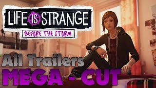 All Trailers MEGA-CUT | Life is Strange: Before the Storm