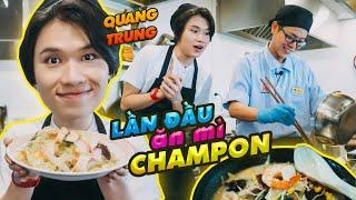 Cùng Quang Trung lần đầu tiên ăn mì Champon! Mì Champon là gì?