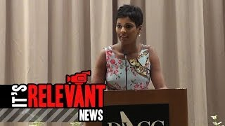 Tamron Hall shares intense personal story with Voices of Courage Luncheon Crowd