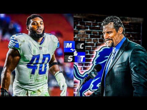 Jarrad Davis Might Be Back w/ Detroit Lions Next Year Thanks to Dan Campbell!!!