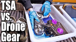 Taking Drone Gear Through Airport Security