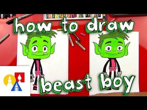 Download How To Draw Beast Boy From Teen Titans Go! HD Mp4 3GP Video and MP3
