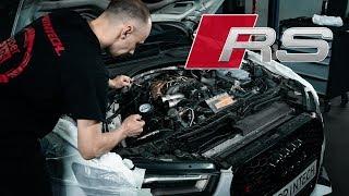 Последствие тюнинга, двигатель Audi RS6 спустя 5 лет!