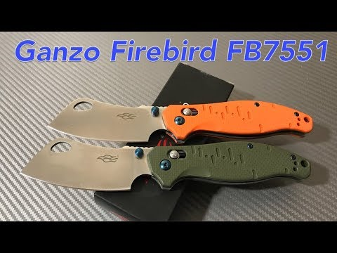 Ganzo Firebird F7551 a Ganzo Cleaver ?  Link to Gearbest plus discount in description section