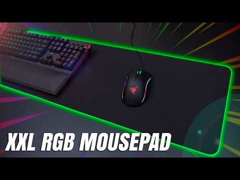 Razer Goliathus Extended Chroma - Ultimate Large RGB Mouse Pad