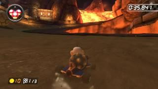 Bowser's Castle - 2:01.827 - Umbre (Mario Kart 8 World Record)