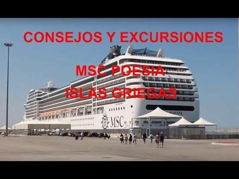 Consejos y excursiones MSC Poesia