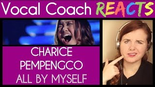 Vocal Coach Reacts to Charice Pempengco singing All By Myself