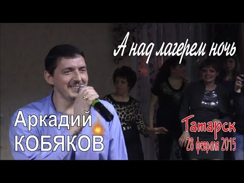 Аркадий КОБЯКОВ - А над лагерем ночь (Татарск, 28.02.2015)