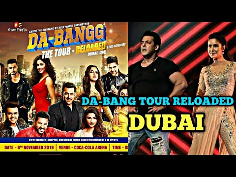 DA-BANG TOUR Reloaded In Dubai UAE Rescheduled|Salman Khan Katrina Kaif Jacqueline Guru Randhawa