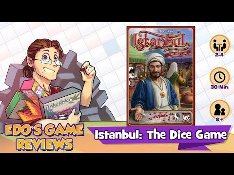Edo's Istanbul: The Dice Game Review