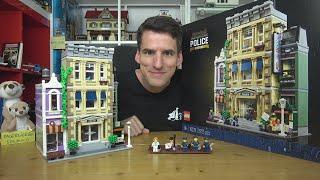 Etwas kahl & keine Premiumqualität, aber ein schönes Haus von außen: LEGO® 10278 Polizei Station