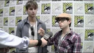 Башня познания, Tower Prep - Comic-Con 2010 Exclusive: Ryan Pinkston and Drew Van Acker