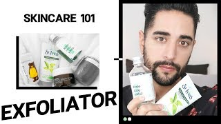 SKINCARE 101 - Exfoliators. How To Use, Why, When and What  ✖ James Welsh