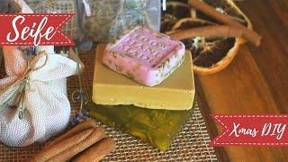 Seife selber machen - DIY Weihnachtsgeschenke - vegan