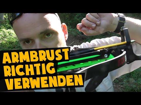 Günstige Armbrust richtig verwenden   Survival Armbrust