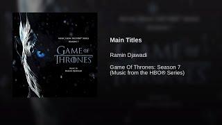 [1 Hour] Djawadi - Game Of Thrones - Main Theme/Title