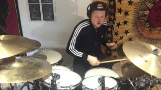 Khalid Young, Dumb & Broke Drum Cover (over played)