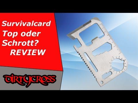 Survivalkarte Review - Top oder Flop?
