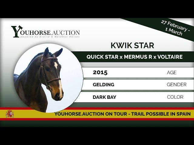 Kwik Star showing 6 years old Spain