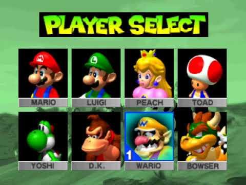Mario Kart 64 Walkthrough Part 22 Time Trials Luigi S Raceway