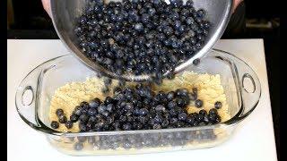 Gluten Free Blueberry Crumb Cake | Gluten Free Desserts | Gluten Free Cake | Moore Approved