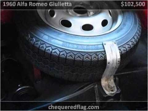 Video of '60 Giulietta Spider - E98E