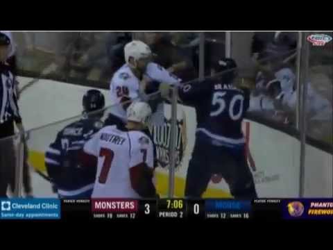 Austen Brassard vs Oleg Yevenko