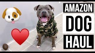 AMAZON DOG HAUL Ft. MY 90 POUND  PITBULL | Fab Or Fail