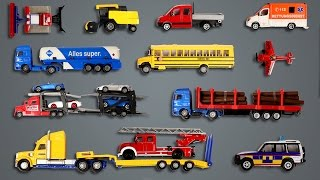 Learning Street Vehicles Names and Sounds for kids with Tomica Siku Hotwheels | Learn Transport cars