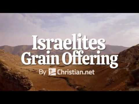 Leviticus 2: Israelites Grain Offering | Bible Stories